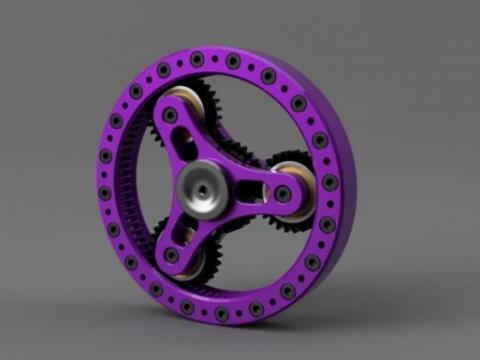 Planetary Gear Spinner