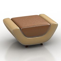 Seat Meritalia Minah 3d model
