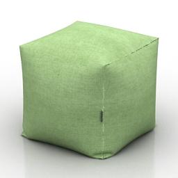 Seat cube 3d model