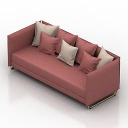 Sofa Cosmorelax Metro 3d model