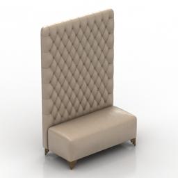 Sofa EGO Zeroventiquattro LIRA CP400 3d model