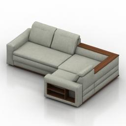 Sofa divanger stuttgart 3d model