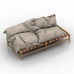 Sofa onic 3d model