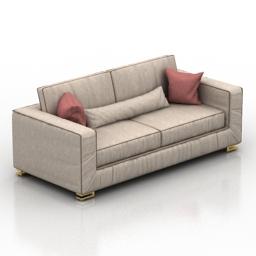 Sofa standart 3d model