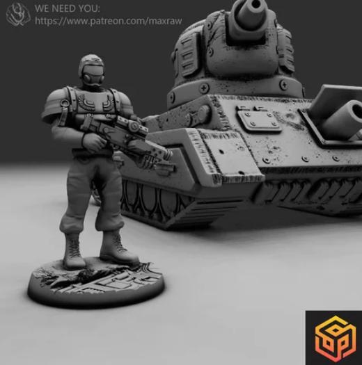 Soldier of the Consortium