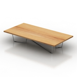 Table coffee Calligaris LOW-T 3d model