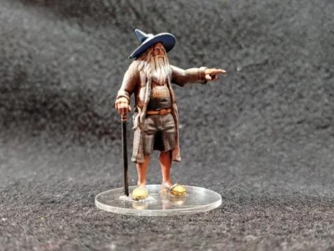 The Fireball Wizard