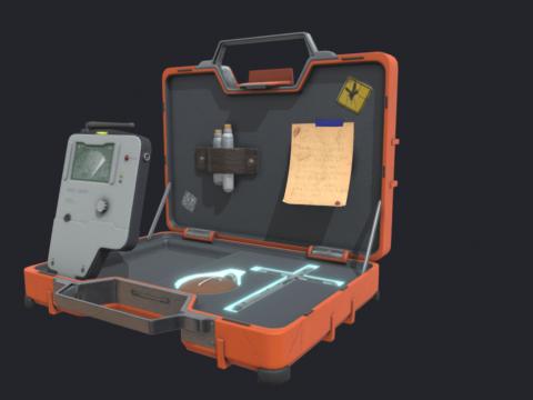 Vampire Hunter Suitcase