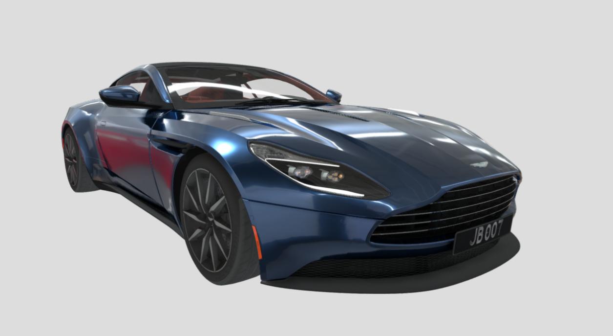 2017 Aston Martin DB11 [5.2L Twin-Turbo V12]