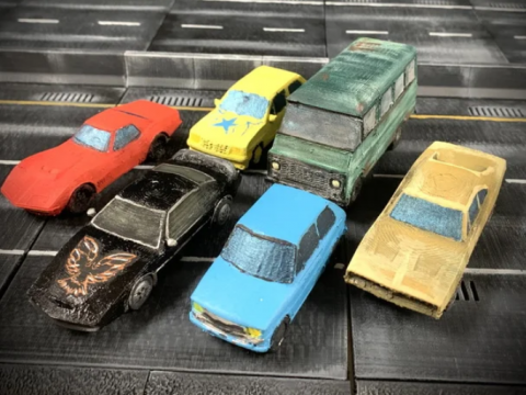 30mm scale cars