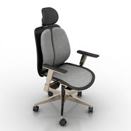 Armchair office 3d model