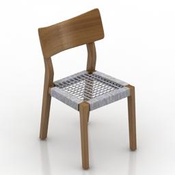 Chair Gervasoni Sweet 21 3d model