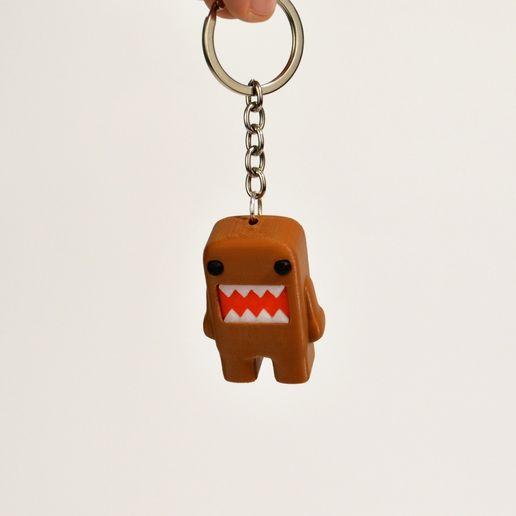 Domo Kun Keychain