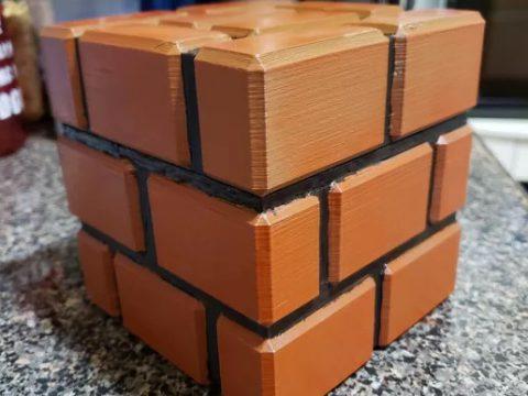 Mario Brick Piggy Bank