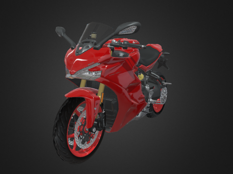 Motorcycle [Ducati Super Sports]