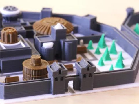 Multi-Color Winterfell Game of Thrones