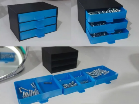 Parts Tray Drawers X3