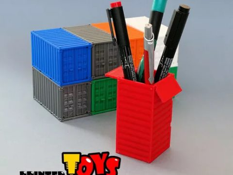 Shipping Container - toy for kids or pen holder
