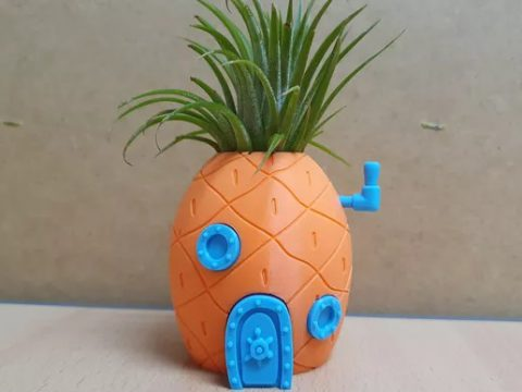 Spongebob Pineapple House Planter