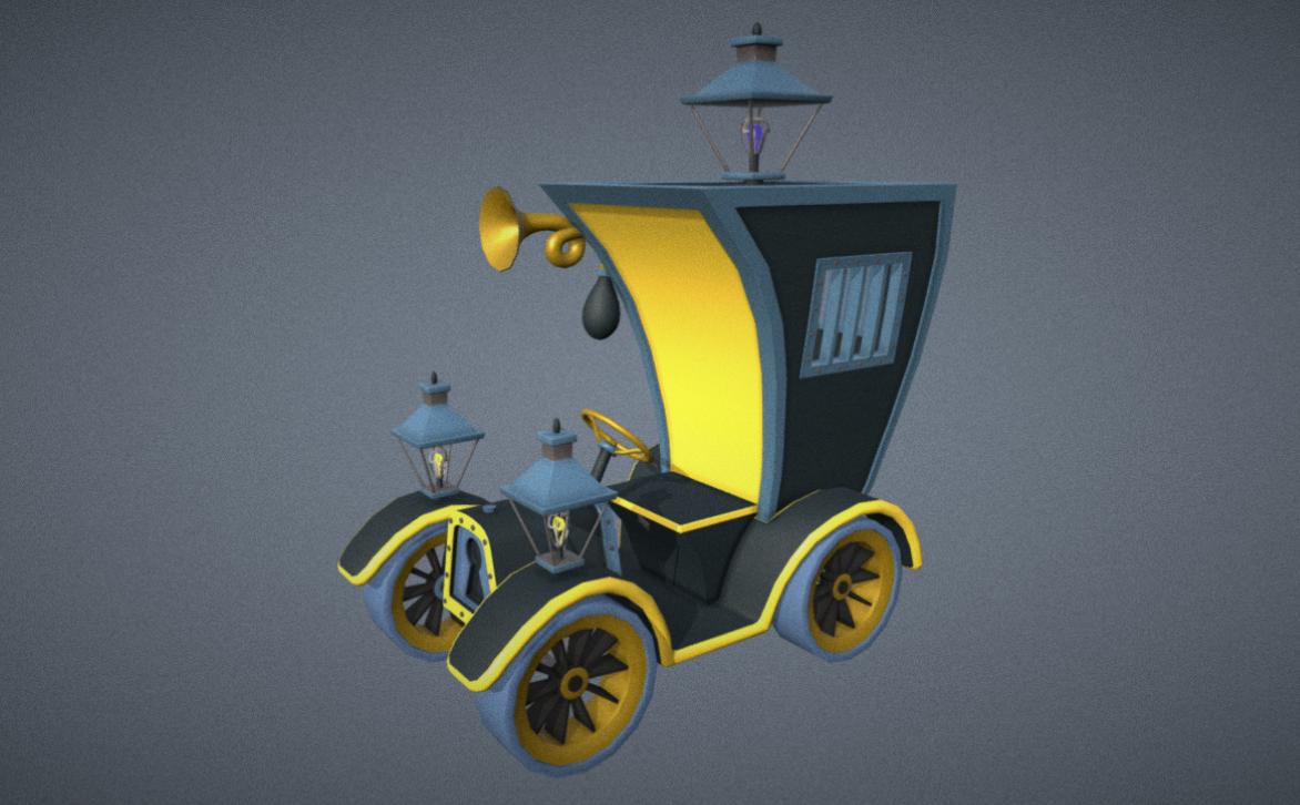 The Detective's Car (The Bremen Town Musicians)