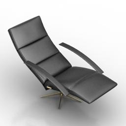 Armchair 7660 casanova Jori 3d model