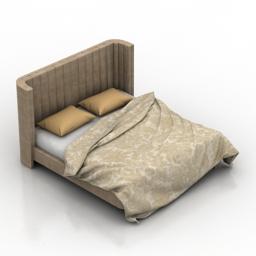 Bed Brooklyn 3d model