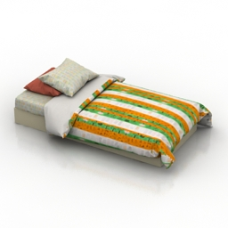 Bed IKEA ONSKEDROM 3d model