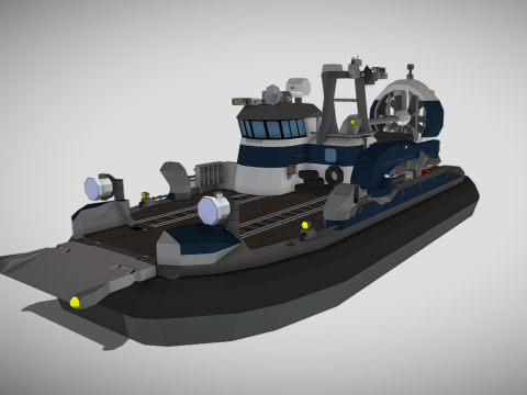 Breeze-Class Transport Hovercraft