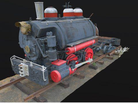 Davenport Locomotive
