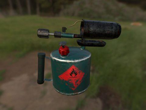 Gasoline Burner