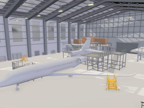 Hangar Blocking