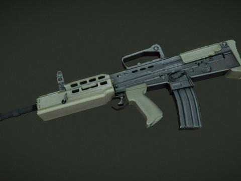 L85a2 (SA80) Rifle