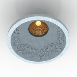 Lamp Donolux DL234G 3d model