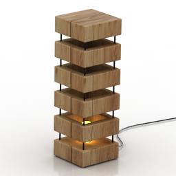 Lamp Woody 3d model