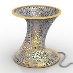 Lamp decorative 3d model