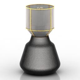 Lamp desk b 3d model