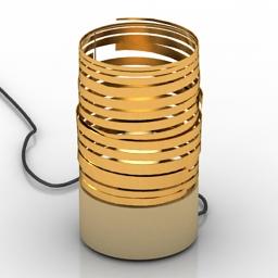 Lamp spiral 3d model