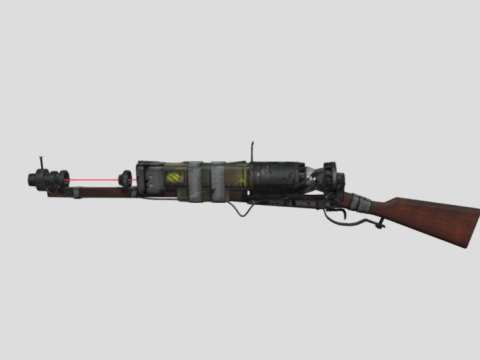 Laser Musket from Fallout 4