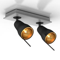 Luster Markslojd Aura Spot lamp 3d model