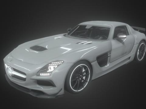 Mercedes-AMG SLS Black Edition