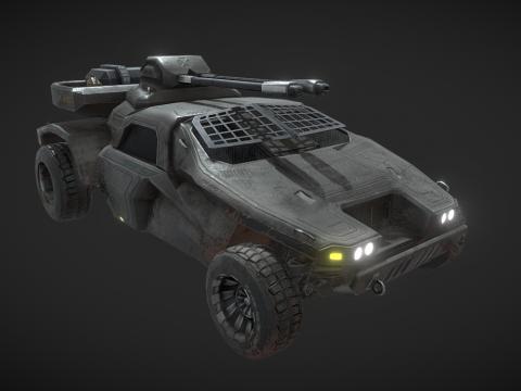 Predator LTA Military Vehicle