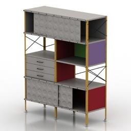 Rack Eames storage 3d model