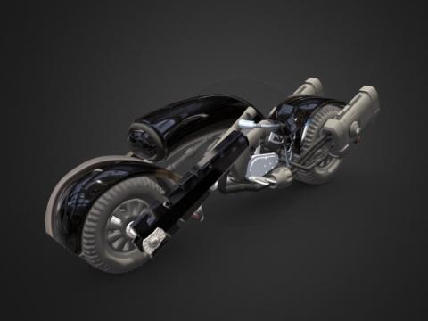SciFi bike