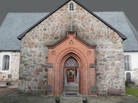 Stone church of Halikko, Finland