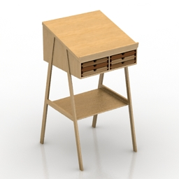 Table Sixay Furniture SIXTEMATIC 3d model