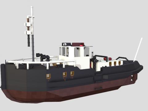 40ft Tugboat