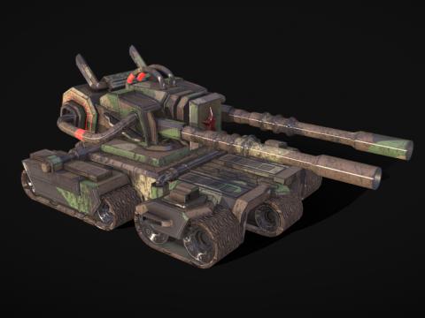 Apocalypse Tank - Red Alert 3