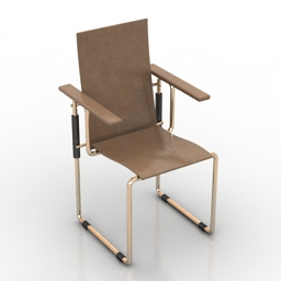 Armchair Gerrit Rietveld 3d model