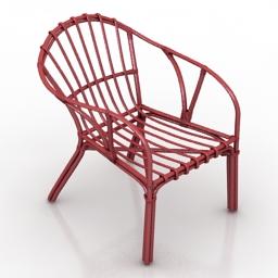 Armchair IKEA Holmsel 3d model
