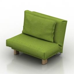 Armchair-bed 3d model